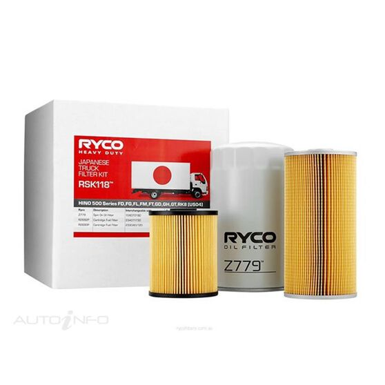 RYCO HD SERVICE KIT - RSK118, , scaau_hi-res