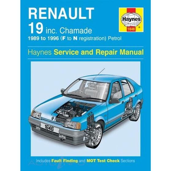 RENAULT 19 PETROL (1989 - 1996), , scaau_hi-res