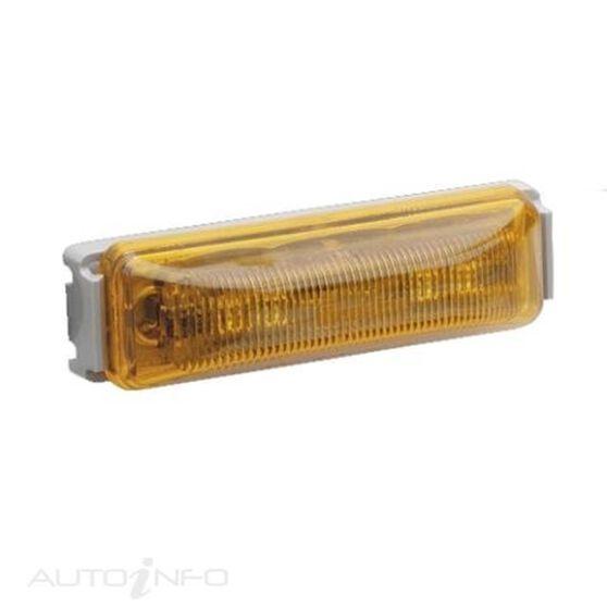 12V LED AMBER EXT CABIN LAMP, , scaau_hi-res
