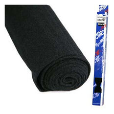 .75 X 2M BLACK FELT CARPET, , scaau_hi-res