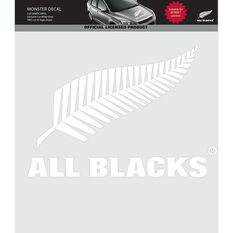 ALL BLACKS ITAG MONSTER DECAL (WHITE VINYL)
