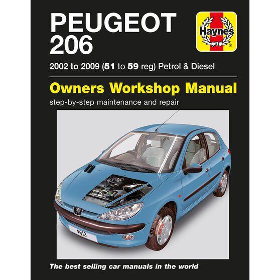 PEUGEOT 206 PETROL & DIESEL (2002 - 2009), , scaau_hi-res