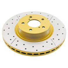 Street Gold Cross-drilled/slotted KP [ Subaru Impreza WRX 01-07 R ], , scaau_hi-res