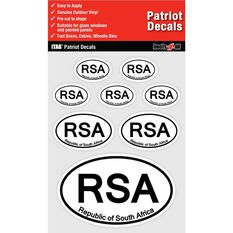 ITAG PATRIOT DECALS SHEET - REPUBLIC OF SOUTH AFRICA