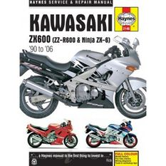 KAWASAKI ZX600 (ZZ-R600 & NINJA ZX6) 1990 - 2006, , scaau_hi-res