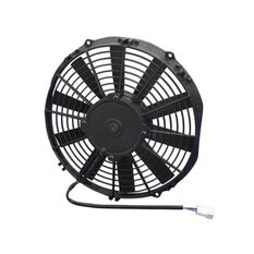 "11"" ELECTRIC THERMO FAN STR STRAIGHT BLADES - PUSHER TYPE, , scaau_hi-res"