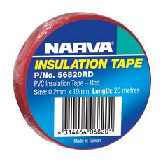 PVC TAPE 20M RED .2MM X 19MM, , scaau_hi-res
