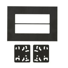 UNIVERSAL DOUBLE DIN ISO MOUNT PLATE, , scaau_hi-res