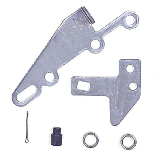 TH350 400 700R4 TRANS CABLE BRACKET & LEVER KIT, , scaau_hi-res