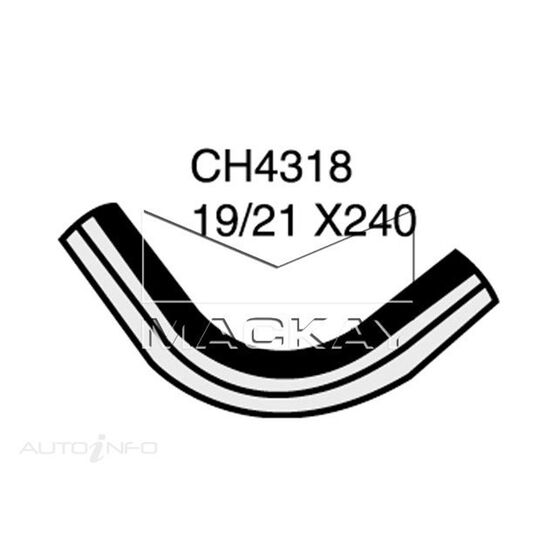 Heater Hose SAAB 900 / 900S  2.0 Litre B202, B212 bypass valve to engine*, , scaau_hi-res