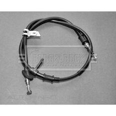 ALFA 166 98- BRAKE CABLE- RH REAR, , scaau_hi-res