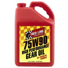 REDLINE GEAR OIL 75W-90 GL5  GALLON RL136-4