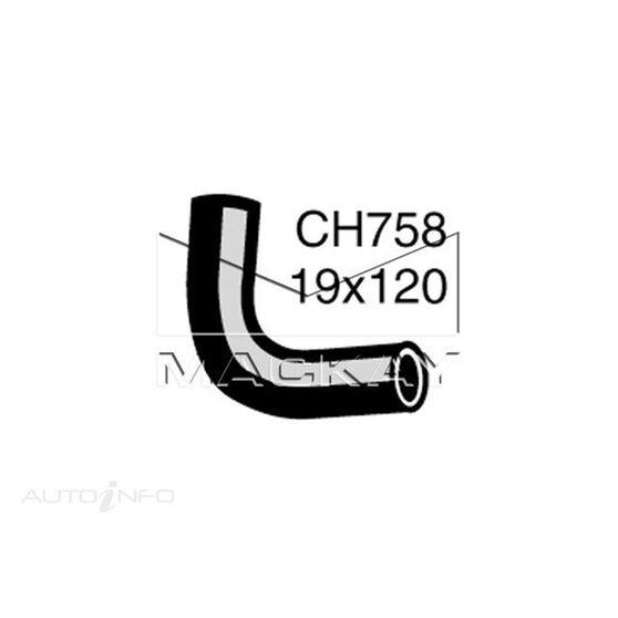 Heater Hose HILLMAN / SINGER / SUNBEAM / TALBOT Hunter and Arrow  HB -HC and HE Series  except HE Series - Heater to Control Valve*, , scaau_hi-res