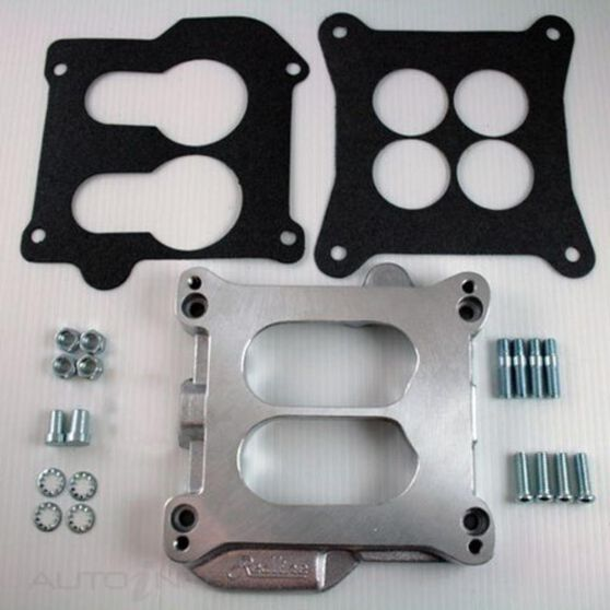 ADAPTOR 4BBL SQ/BORE TO FORD  XC ON V8., , scaau_hi-res