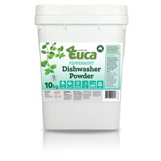 EUCA DISHWASHER POWDER PEPPERMINT 10KG, , scaau_hi-res