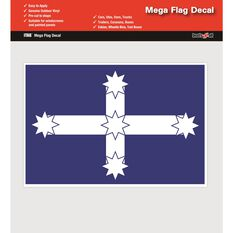 EUREKA MEGA FLAG DECAL