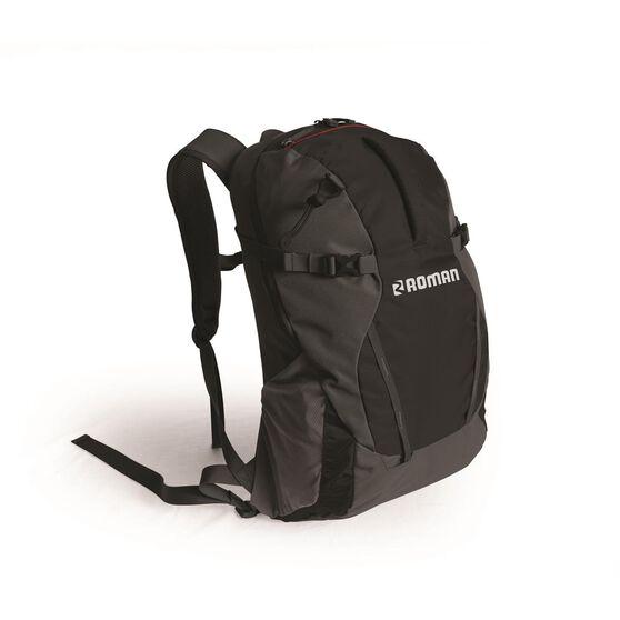 Roman Daypack - 30 Litres, Black, ROM28201, , scaau_hi-res