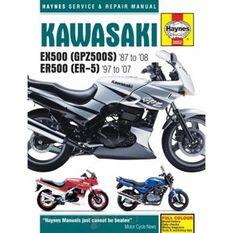 KAWASAKI EX500 (GPZ500S) & ER500 (ER-5) 1987 - 2008, , scaau_hi-res