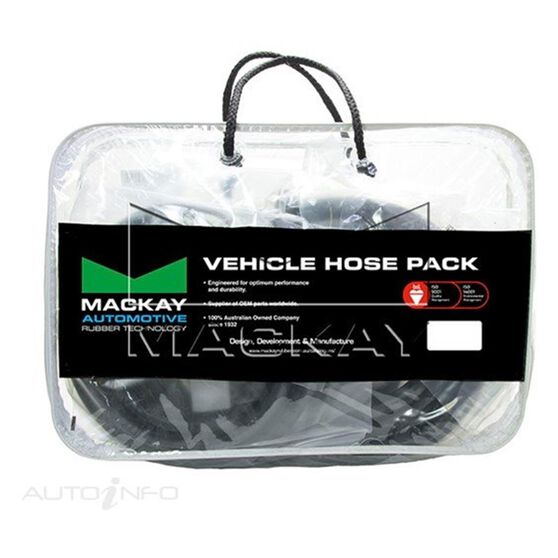 Radiator Hose Kit  - TOYOTA HILUX LN106R - 2.8L I4  DIESEL - Manual & Auto, , scaau_hi-res