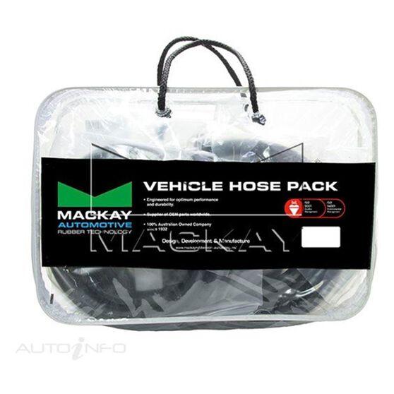 Radiator Hose Kit  - HOLDEN COMMODORE VL - 3.0L I6  PETROL - Manual & Auto, , scaau_hi-res