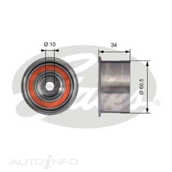 T41226 SBDS IDLER PULLEY, , scaau_hi-res