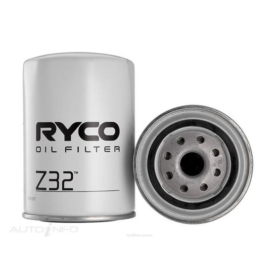 RYCO OIL FILTER - Z32, , scaau_hi-res