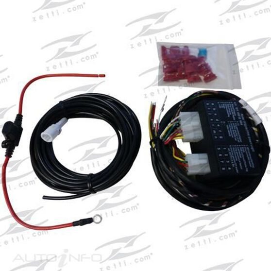 Spareco Tow Bar Wiring Harness - UNT300 on tow license plate bracket, tow cable, tow lights,