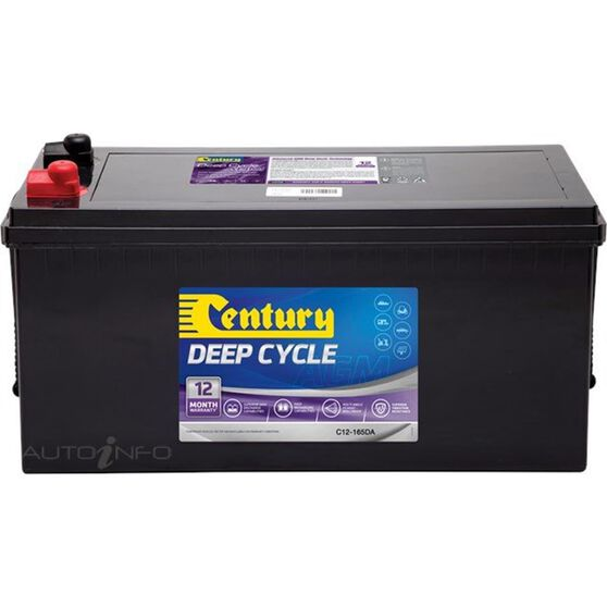 C12-165DA Century AGM Battery, , scaau_hi-res
