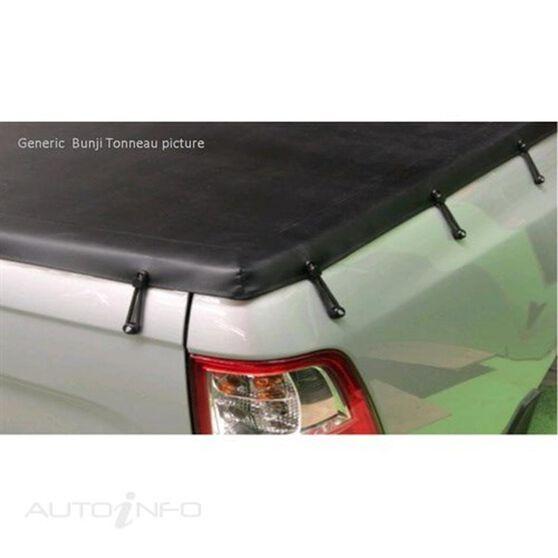NAVARA DUAL CAB 4WD RX (D40T) WITHOUT SPORTS BAR, BUNJI UTE TONNEAU COVER