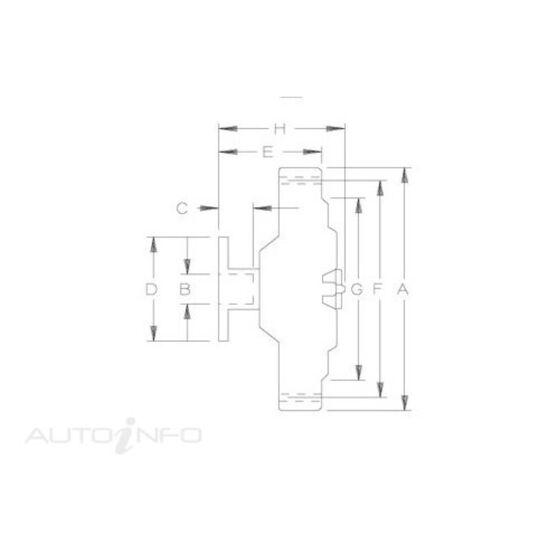 FAN CLUTCH - VOLVO 760, 780, , scaau_hi-res