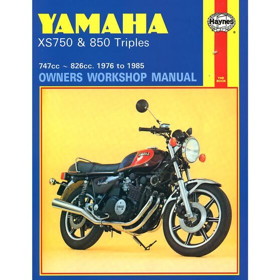 YAMAHA XS750 & 850 TRIPLES 1976 - 1985, , scaau_hi-res