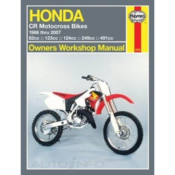 HONDA CR MOTOCROSS BIKES 1986 - 2007, , scaau_hi-res