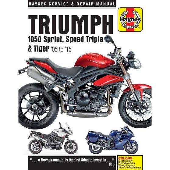 TRIUMPH 1050 SPRINT ST, SPEED TRIPLE & TIGER 2005 - 2013, , scaau_hi-res