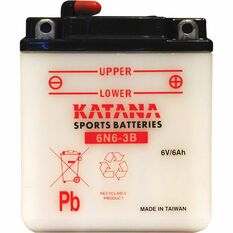 KATANA MOTORCYCLE BATTERY - 6N6-3B, , scaau_hi-res