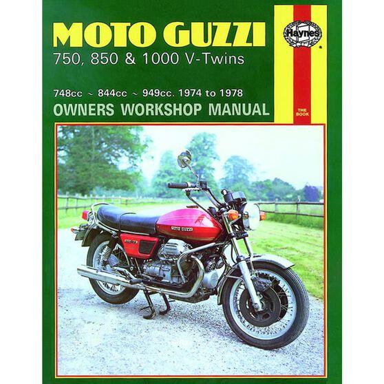 MOTO GUZZI 750, 850 & 1000 V-TWINS 1974 - 1978, , scaau_hi-res