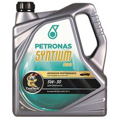 SYNTIUM 800 5W30 5 LITRE ENGINE OIL PLASTIC BOTTLE, , scaau_hi-res