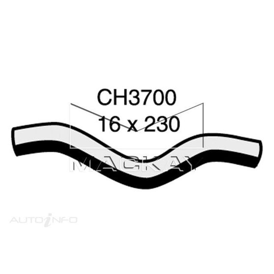 Heater Hose HONDA CIVIC    1.6 Litre 4 Cyl  Outlet ( Left Hand Drive Application)*, , scaau_hi-res