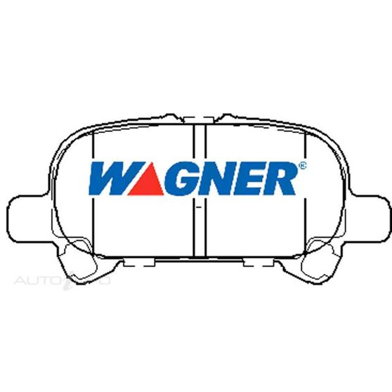 Wagner Brake pad [ Toyota Avalon & Camry 2000-2006 R ], , scaau_hi-res
