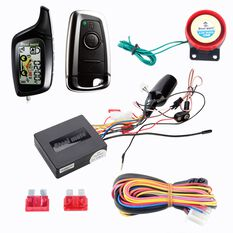 2-WAY REMOTE START MOTORCYCLE ALARM SYST