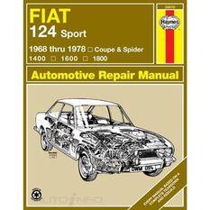 FIAT 124 SPORT COUPE AND SPIDER HAYNES REPAIR MANUAL FOR 1968 THRU 1978, , scaau_hi-res