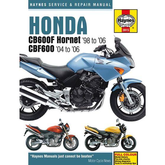 HONDA CB600F HORNET & CBF600 1998 - 2006, , scaau_hi-res