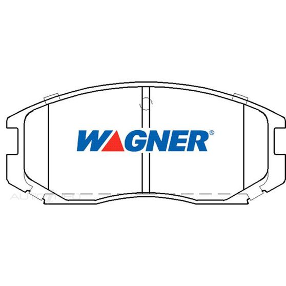 Wagner Brake pad [ Mitsubishi & Proton  1990-2014 F ], , scaau_hi-res