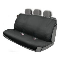 DICKIES HEAVY DUTY REAR BENCH SEAT PROTECTOR, BLACK, , scaau_hi-res