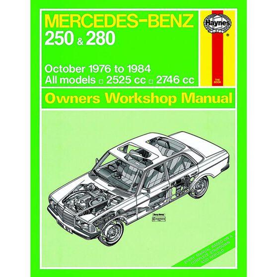 MERCEDES-BENZ 250 & 280 123 SERIES PETROL (1976 - 1984), , scaau_hi-res