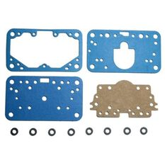 FUEL BOWL GASKET KIT NON-STICK FOR S/B 4BBL HOLLEY, , scaau_hi-res