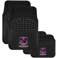 AFL CAR MATS SET OF 4 DEMONS, , scaau_hi-res
