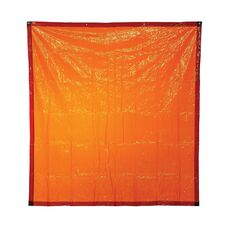 BOSSSAFE 1.8MT X 2.7MT ORANGE WELDING CURTAIN, , scaau_hi-res