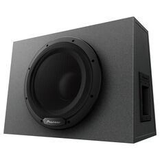 "PIONEER 12"" ACTIVE SUBWOOFER 1300W MAX, 350W NOMINAL. CLASS D, SEALED ENCLOSURE."