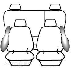 NISSAN NAVARA D40 DUAL CAB - ST-X (10/2007 - ON) DEPLOY SAFE (CHARCOAL)
