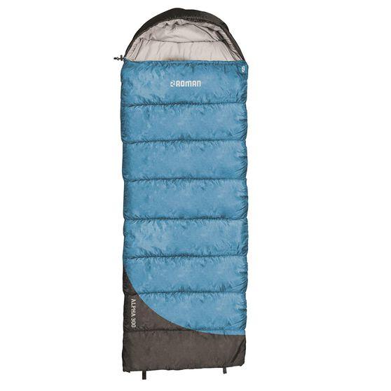 Roman Alpha 300 Sleeping Bag - Adult, Blue, ROM1067, , scaau_hi-res